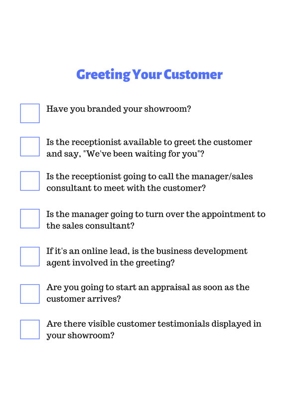 Preparing for Your Customer (2)
